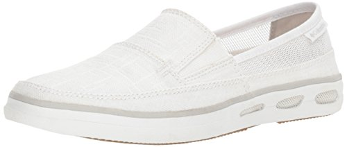 Women's 10 5 Grey Vent Sandal White Outdoor US Cool Slip Columbia N Vulc Athletic B RwdafxRqP7