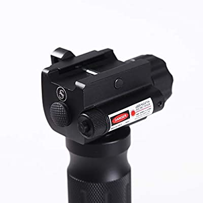 Sniper 1000 High Lumen LED Flashlight with Green Laser Sight Fit 20mm Picatinny Rail Mount