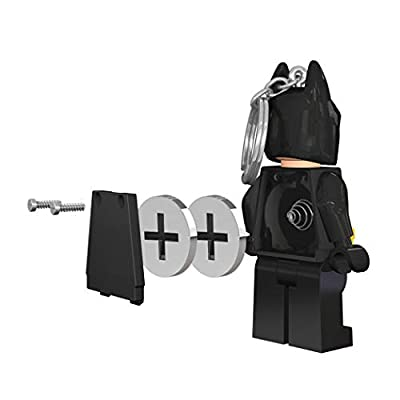 IQ Lego Batman Movie - Batman - LED Key Chain Light with Illuminating Face: Toys & Games