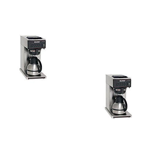 Bunn Coffee Maker Programmable : BUNNa Stainless Steel 12-Cup Programmable Coffee Maker - BUNN Model - 23001.0040 - Set of 2 Gift ...