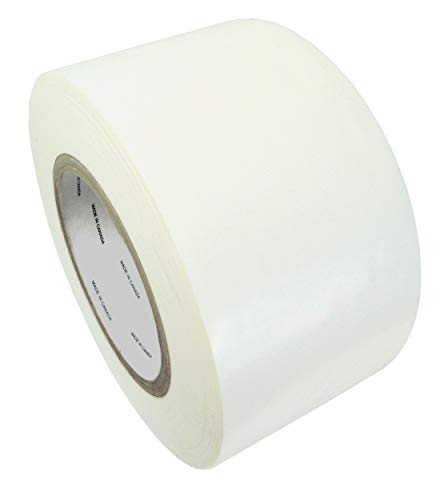 (WOD LDPE-5A Greenhouse Repair Tape, White - 3 inch x 108 ft. - Strong Weatherseal Polyethylene Film Tape Ideal For Sealing & Seaming (Available in Multiple Sizes))