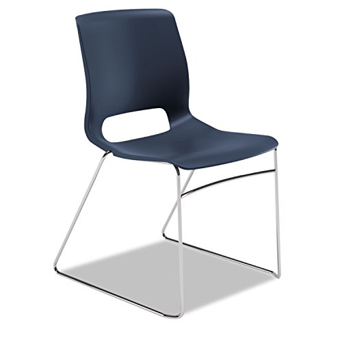 HONMS101RE - HON Motivate Sled-based Stacking Chairs