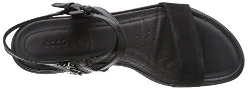 Ecco Touch Sandal, Sandales Bride Cheville Femme Noir - Schwarz (Black/Black51052)