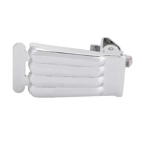 Banjo Tailpiece, Banjo Tailpiece for 5 String Banjo Parts Replacement Chrome Plated Luthier Maker