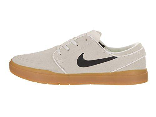 Nike Stefan Janoski Hyperfeel, Zapatillas de Skateboarding para Hombre Blanco (Summit White / Black-Gum Light Brown)