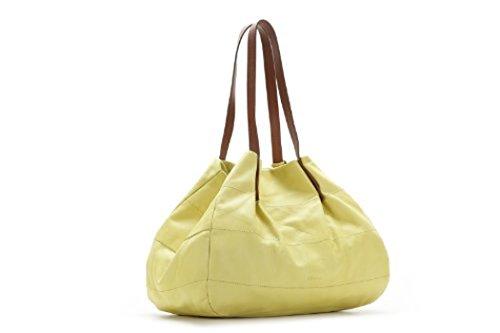 Abbacino Leder Beutel 3335-60 gelb