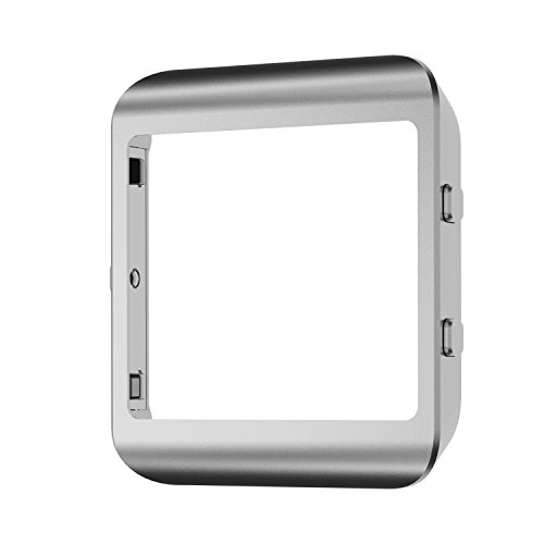 Ztotop Fitbit Blaze Frame Silver New, Blaze Fitbit Steel Metal Replacement Frame For Fitbit Blaze Smart Watch(Silver)