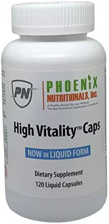 High Vitality Capsules is Our Full Spectrum Concept in convenient capsule form, Providing High Energy, Antioxidants, 17 Vitamins, 72 Minerals, Anti-aging - 136 Nutrients in One Capsule.