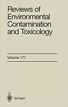 """""""Reviews Of Environmental Contamination And Toxicology: Continuation Of Residue Reviews: V. 171"""" - por Dr. George W. Ware FB2 TORRENT"""