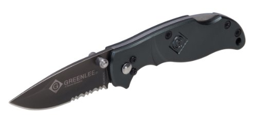 Greenlee - Knife, Folding-Drop Pt. (2-1/4 TI Coat Pop) (0652-25)