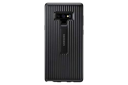 Samsung Galaxy Note9 Case, Rugged Military Grade Protective Cover with Kickstand, (Black Kickstand Case)