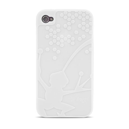 (iFrogz Wrapz Case for iPhone 4 - Snow - Fits AT&T and Verizon iPhone 4)