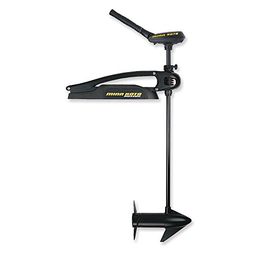 "Minn Kota Maxxum 80 Bowmount Trolling Motor with 5-Speed Hand Control and Bowgaurd (80lbs Thrust, 52"" Shaft)"