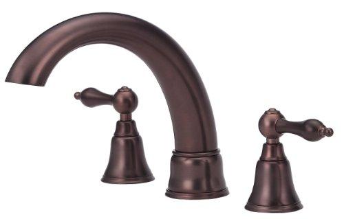 (Danze D308840RBDT Fairmont Two Handle Roman Tub Trim Kit, Distressed Bronze, Valve Not Included )