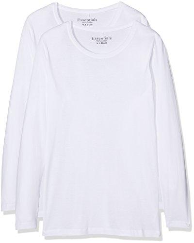 Evans, Camiseta sin Mangas para Mujer blanco