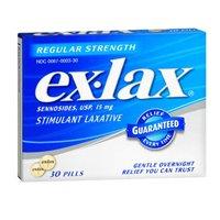 Ex-Lax Pills Regular Strength 30 Each (Pack of 3) -