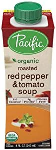 12-Pack Pacific Foods Organic Red Pepper and Tomato Soup, 8Oz