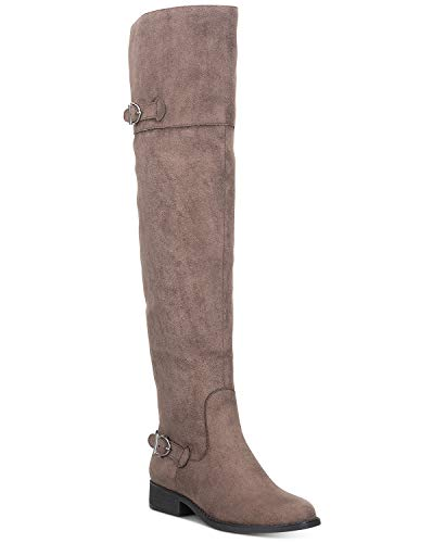 AMERICAN RAG CIE | Adarra Over-The-Knee Boots | Taupe | 7.5 from AMERICAN RAG CIE