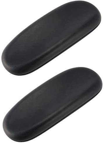 Arm Pads Caps Replacement for Herman Miller Sayl Office Chair Fixed Armrest Light Gray Vinyl 1-Pair