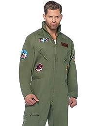 Men's Top Gun Flight Suit Costume