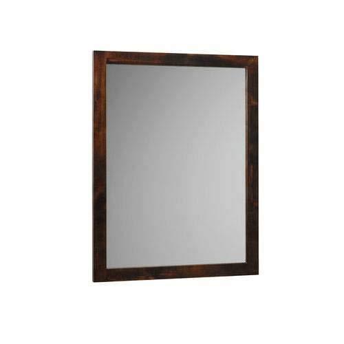 Ronbow Contempo Bathroom Mirror 600124-F07 Vintage - Vintage Walnut F07