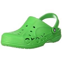 Crocs Baya, Zuecos Unisex Adulto, Verde (Grass Green 3e8), 42/43 EU