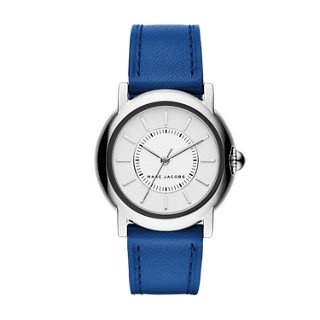 Marc Jacobs Women's Courtney Blue Leather Watch - MJ1451