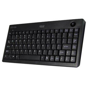 ADESSO Mini Trackball keyboard Wless / WKB-3100UB /