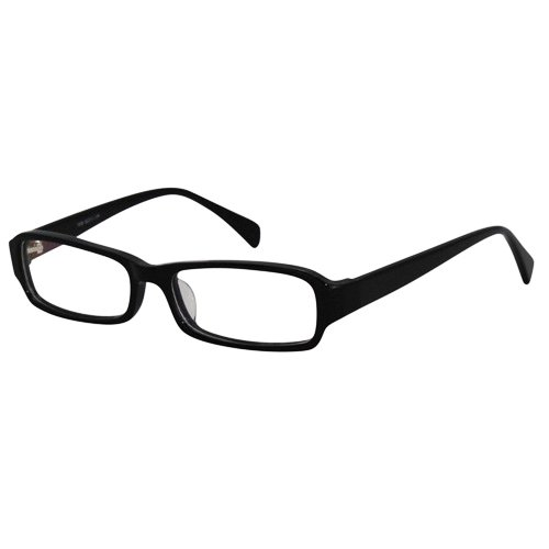 EyeBuyExpress Rectangle Black Reading Glasses Magnification Strength - Glasses Eyesight Frames