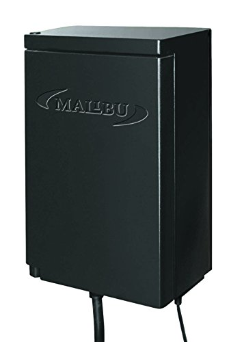 Malibu 120 Watt Power Pack with Sensor and Weather Shield for Low Voltage Landscape Lighting Spotlight Outdoor Transformer 120V Input 12V Output 8100-9120-01
