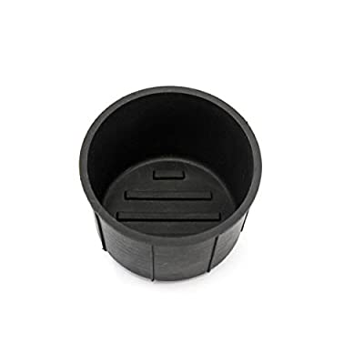 Red Hound Auto Rear Center Console Cup Holder Insert 2009-2014 Compatible with Ford F150 Rubber Right Side Liner: Automotive