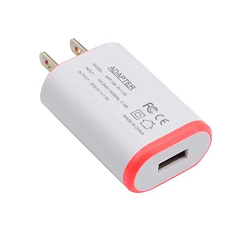 - GLVSZ USB Wall Home Travel AC Charger Adapter for S7 US Plug RD