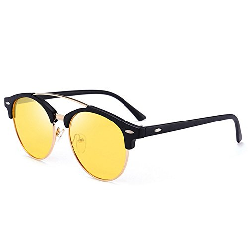 colorés polarized rond soleil de Verres D lunettes Mens Cadre 0gqwppB