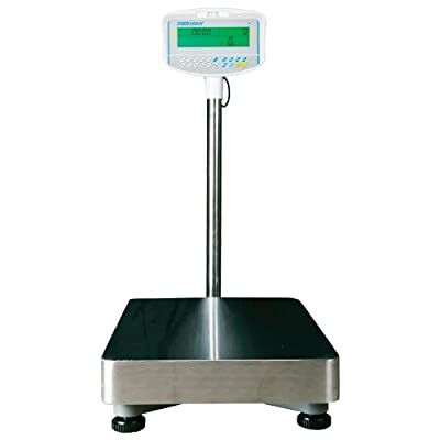 Image of Postal Scales Adam Equipment GFC 660a Floor Counting Scale, 660lb/300kg Capacity, 0.05lb/20g Readability