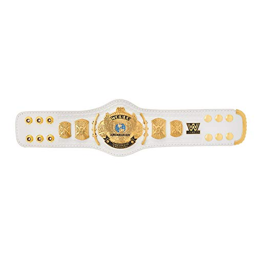 WWE Authentic Wear White Winged Eagle Championship Mini Replica Title Belt