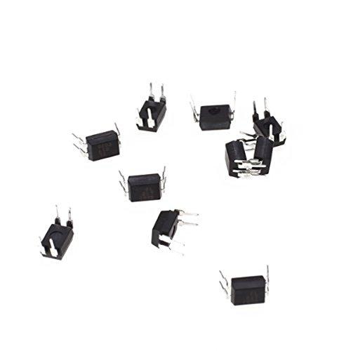 Optocouplers 10 pcs EL817 Optocouplers R SODIAL