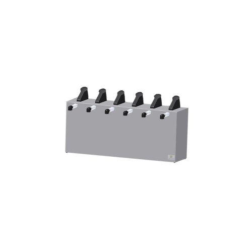 Server Products 07080 Stainless Steel 6 Pump Express Server (Express Server Pump)