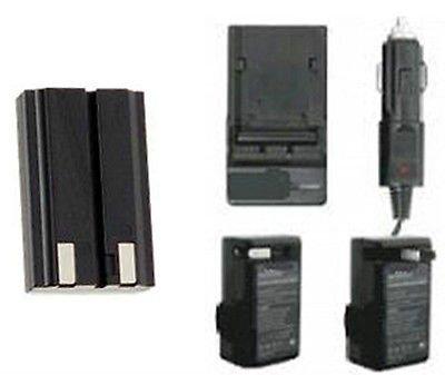 (EN-EL1 Battery + Charger for Nikon CoolPix 880, Nikon 885 995 4300, Nikon 4500, Nikon 4800, Nikon 5700, Nikon 8700)