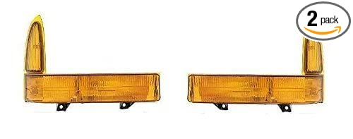 Fits 1999-2001 Ford F250 F350 F450 F550 Turn Signal Pair Set Both Driver and Passenger NEW 00-01 Excursion NEW XC3Z13201BA XC3Z13200BA FO2520141 FO2521141