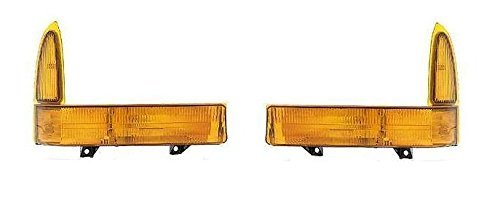 Ford F250 Cornering Light (Fits 1999 - 2001 Ford F250 F350 F450 F550 Turn Signal Pair Set Both Driver and Passenger NEW 00-01 Excursion NEW XC3Z13201BA XC3Z13200BA FO2520141 FO2521141)