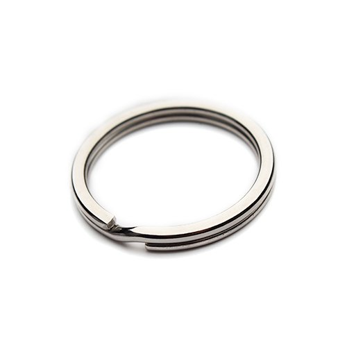 Split Key Design (Linsoir Beads Dia 23mm 316 Stainless Steel Key Ring Key Chain Connector Pack of 20)