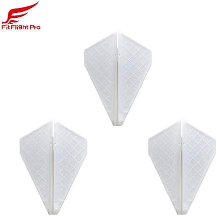 COSMO DARTS コスモダーツ Fit Flight Pro フィットフライトプロ Vシリーズ V3 ホワイト ダーツ フ