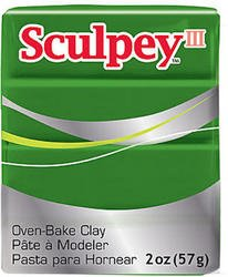 (Sculpey Modeling Compound III (Leaf Green) (Sold by 1 pack of 5 items))