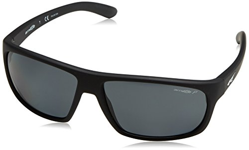 Arnette Sunglasses 4225 Burnout 447/81 Fuzzy Black Grey - Arnette Polarized Sunglasses