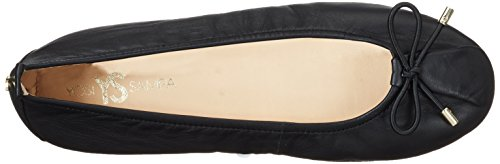 Yosi Samra Ladies Sheila Flat W Closed Ballerinas Black (black)
