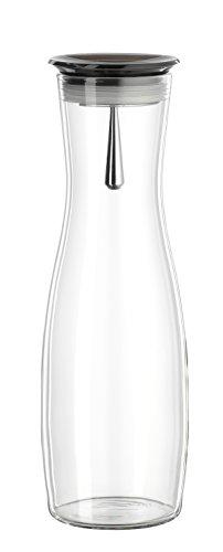 Bohemia Cristal 093 006 106 SIMAX Karaffe ca. 1250 ml aus hitzebeständigem Borosilikatglas mit praktischem Ausgießer aus Kunststoff smoke