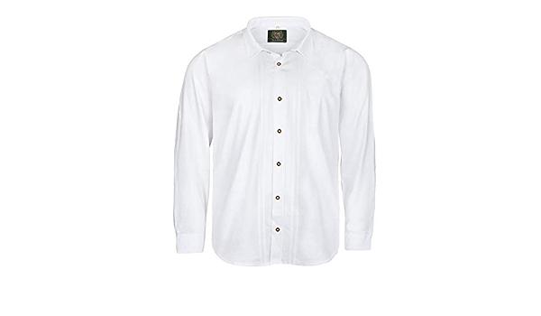 Orbis Camisa de Traje típico Blanca Tallas XXL, 45/46-55/56 ...