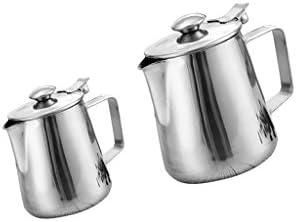 CUTICATE ステンレススチール製コーヒーピッチャークラフトラテミルク泡立て器