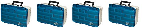Plano Two Level Magnum 3500 Tackle Box, Premium Tackle Storage (4-(Pack))