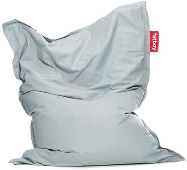 Fatboy® Original Puf / Bean bag para exterior | Mineral Blue / Azul Mineral | Clásico puff para exteriores, cojines | 180 x 140 cm: Amazon.es: Jardín